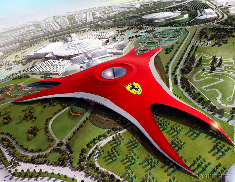 Screen Goo 3D Curved Screens at Ferrari World
